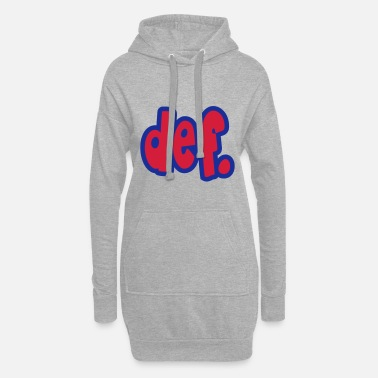 Funky def. - Women's Hoodie Dress