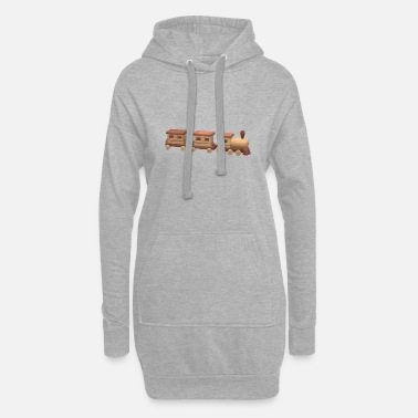 Train train - Women's Hoodie Dress
