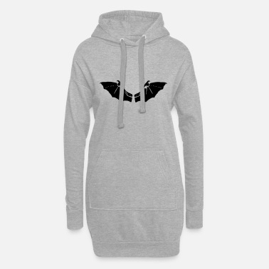 Bat Wings Bat Wings - Women's Hoodie Dress