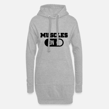 Muscles muscles - Women's Hoodie Dress