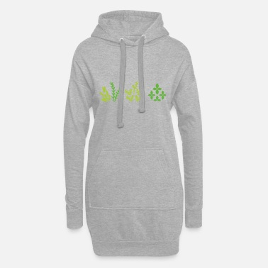 Plant Grounds plants - Women's Hoodie Dress