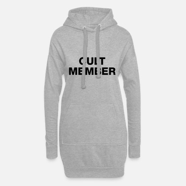 Cult CULT MEMBER - Women's Hoodie Dress