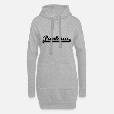 Pankow pankow writing - Women's Hoodie Dress