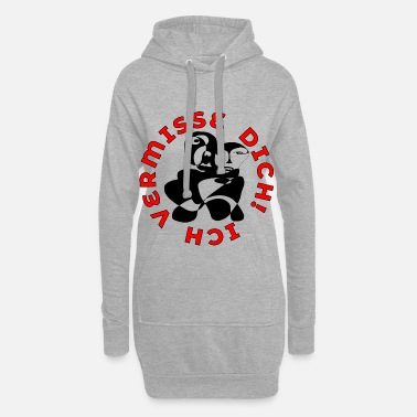 Contact Tu me manques amour relation HUG Lineart - Robe sweat Femme
