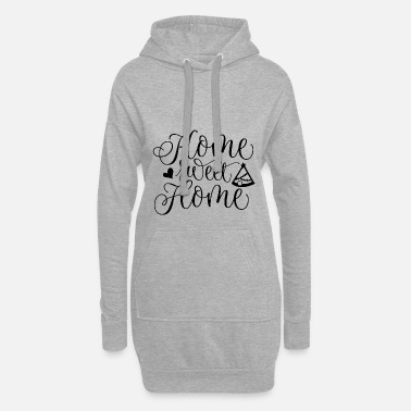 HOME SWEET HOME | CAMPING IS HOME - Women's Hoodie Dress