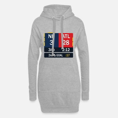 New England Patriots New England Patriots comeback in Superbowl 51 - Women's Hoodie Dress