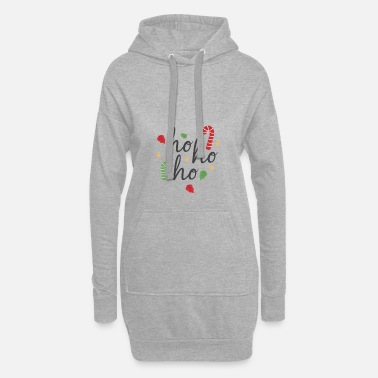 Treatment HOHOHO CHRISTMAS CANDY TREATMENT LOVE - Women's Hoodie Dress