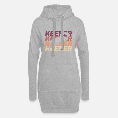Keeper Keeper - Frauen Hoodiekleid