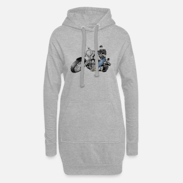 Chopper chopper - Frauen Hoodiekleid