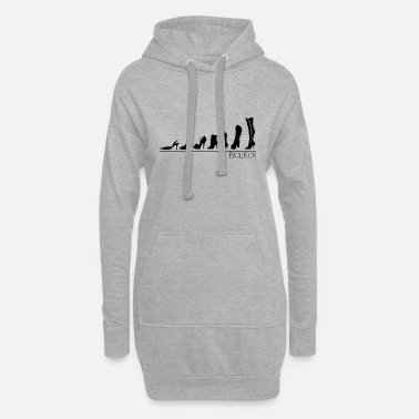 Evolution evolution - Women's Hoodie Dress
