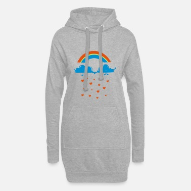 Nuages nuages - Robe sweat Femme