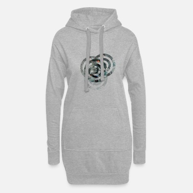 Cercle cercles - Robe sweat Femme