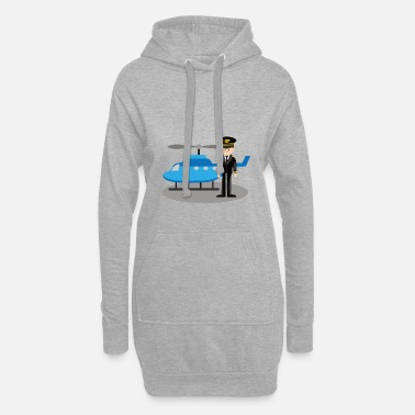 Helicopter pilot Dulli - Women's Hoodie Dress