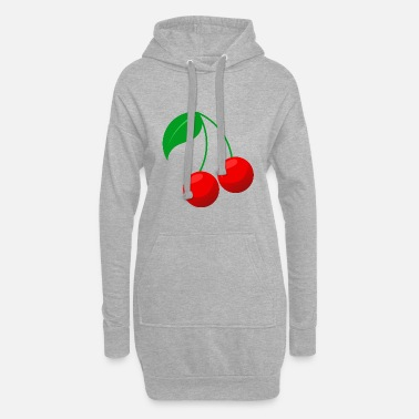 Cherry Cherry - Women's Hoodie Dress