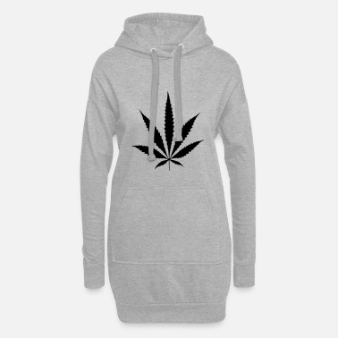 Cannabis Sac de cannabis chanvre feuille de chanvre - Robe sweat Femme