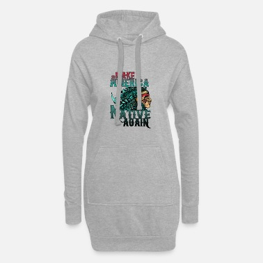 Indianere indian - Hoodie kjole dame