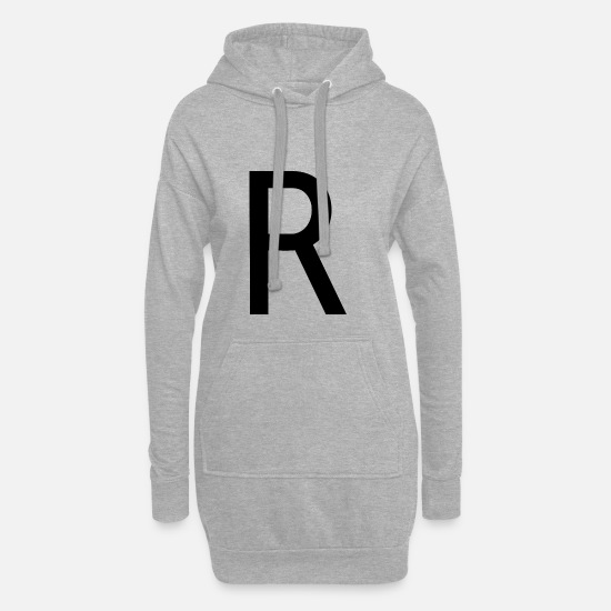 Raphael Sweat-shirts - Alphabet R - Robe sweat Femme gris chiné