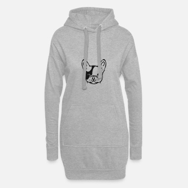 Bulldog French bulldog - Women's Hoodie Dress