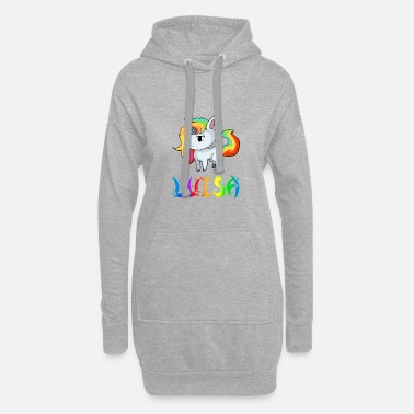 Luisa unicorn - Women's Hoodie Dress