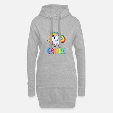 Carri Unicorn Carri - Women's Hoodie Dress