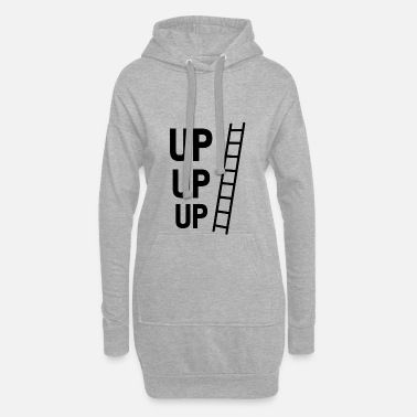 Up UP UP - Women's Hoodie Dress