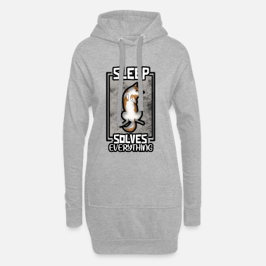 Sleeping Sleep, sleep, sleep - Women's Hoodie Dress