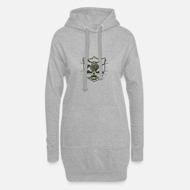 Militaire militaire - Robe sweat Femme