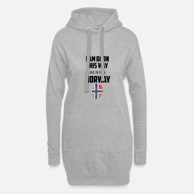 Norge Norge - Norge - Hoodie kjole dame