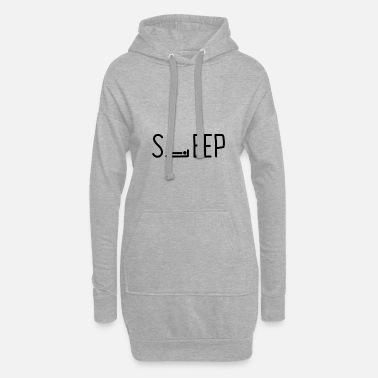 Sleeping SLEEP sleep - Women's Hoodie Dress