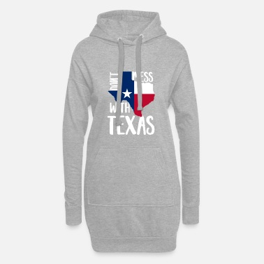Texas Texas - Frauen Hoodiekleid