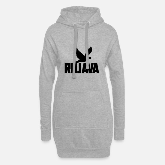 Syria Hoodies & Sweatshirts - rojava kurdistan - Women's Hoodie Dress heather grey