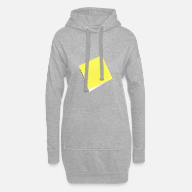 Note Clue yellow sticky note, sticky note, sticky note - Women's Hoodie Dress