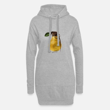 Appearance Pear Hand Grenade Graphic Art - Women's Hoodie Dress