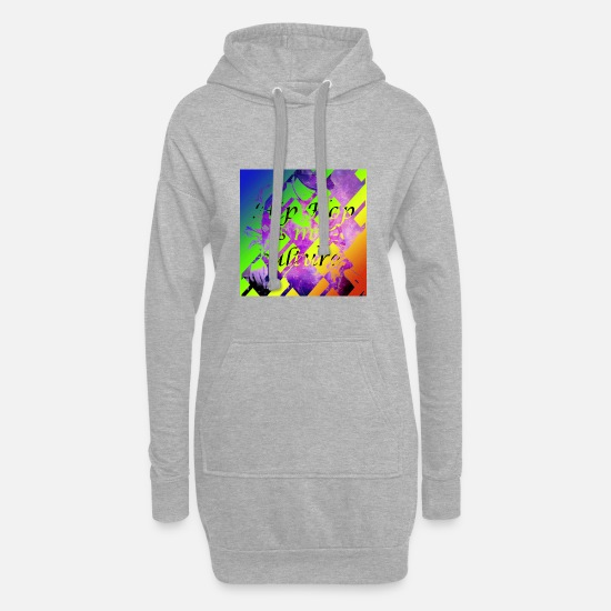 Dj Hoodies & Sweatshirts - DJ - Women's Hoodie Dress heather grey