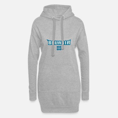 Tradition Bayern tradition - Hoodie kjole dame