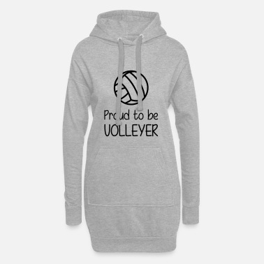Volleyer Proud to be Volleyer - Women's Hoodie Dress