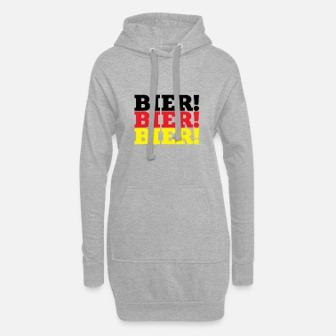 Beer Oktoberfest - beer! Beer! Beer! - Women's Hoodie Dress