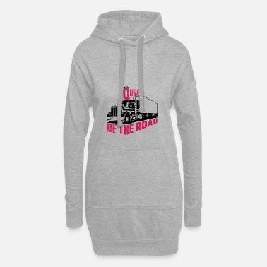 Road Queen Of The Road - Women's Hoodie Dress