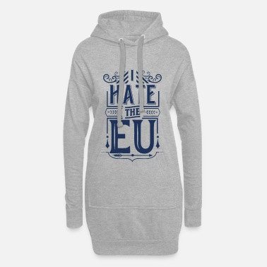 Europe Europe Europe Europe Europe - Women's Hoodie Dress