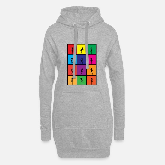 Trend Hoodies & Sweatshirts - Girls, Girls Girls - Women's Hoodie Dress heather grey