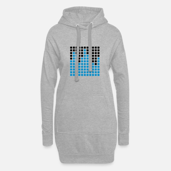Bass Hoodies & Sweatshirts - Equalizer - Women's Hoodie Dress heather grey