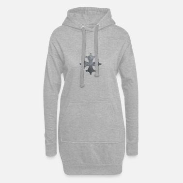 Iron Metal Occitan cross metal iron - Women's Hoodie Dress