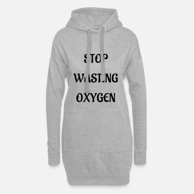 Oxygen oxygen - Women's Hoodie Dress