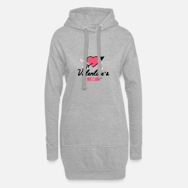 Valentines valentine's - Women's Hoodie Dress