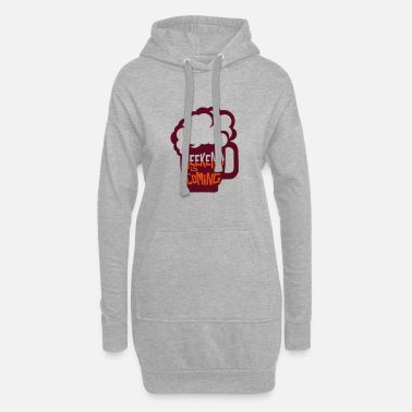 Weekend weekend coming biere citation alcool humour 2 - Robe sweat Femme