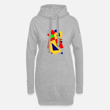 Form to form - Women's Hoodie Dress