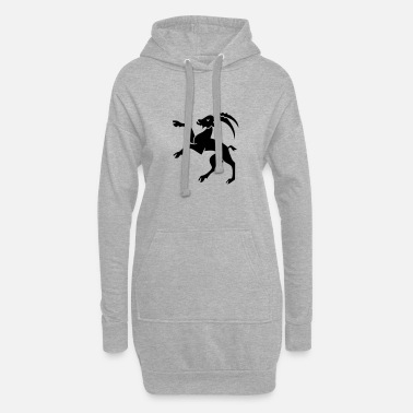 Grisons Capricorn crest Grisons - Women's Hoodie Dress