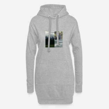 Paysage paysages - Robe sweat Femme