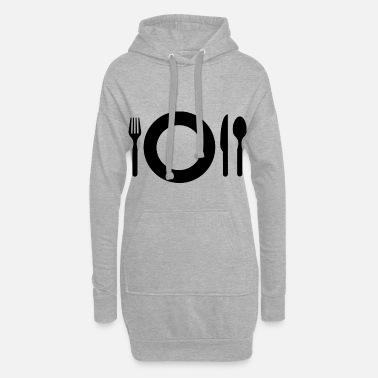 Meal meal - Women's Hoodie Dress