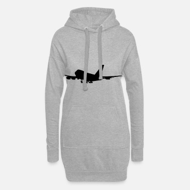 Jumbo jumbo-jet - Women's Hoodie Dress